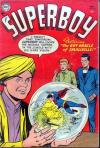 Superboy #35 comic books - cover scans photos Superboy #35 comic books - covers, picture gallery
