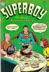 Superboy #36 comic books - cover scans photos Superboy #36 comic books - covers, picture gallery