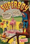 Superboy #37 comic books - cover scans photos Superboy #37 comic books - covers, picture gallery