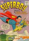 Superboy #50 Comic Books - Covers, Scans, Photos  in Superboy Comic Books - Covers, Scans, Gallery
