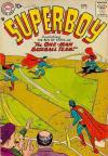 Superboy #57 Comic Books - Covers, Scans, Photos  in Superboy Comic Books - Covers, Scans, Gallery