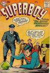 Superboy #58 Comic Books - Covers, Scans, Photos  in Superboy Comic Books - Covers, Scans, Gallery