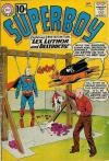 Superboy #92 comic books - cover scans photos Superboy #92 comic books - covers, picture gallery