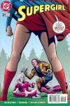 Supergirl #21 comic books - cover scans photos Supergirl #21 comic books - covers, picture gallery