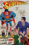 Superman #219 comic books - cover scans photos Superman #219 comic books - covers, picture gallery
