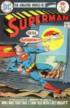 Superman #287 comic books - cover scans photos Superman #287 comic books - covers, picture gallery
