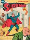 Superman #4 Comic Books - Covers, Scans, Photos  in Superman Comic Books - Covers, Scans, Gallery