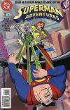 Superman Adventures #2 comic books - cover scans photos Superman Adventures #2 comic books - covers, picture gallery