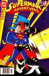 Superman Adventures #25 comic books - cover scans photos Superman Adventures #25 comic books - covers, picture gallery