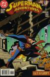 Superman Adventures #32 comic books - cover scans photos Superman Adventures #32 comic books - covers, picture gallery