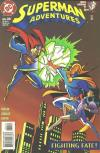 Superman Adventures #34 comic books - cover scans photos Superman Adventures #34 comic books - covers, picture gallery