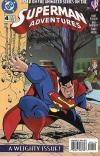 Superman Adventures #4 comic books - cover scans photos Superman Adventures #4 comic books - covers, picture gallery