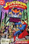 Superman Adventures #44 comic books - cover scans photos Superman Adventures #44 comic books - covers, picture gallery