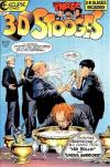 3-D Three Stooges #3 Comic Books - Covers, Scans, Photos  in 3-D Three Stooges Comic Books - Covers, Scans, Gallery