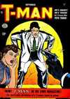 T-Man comic books