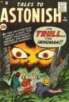 Tales to Astonish #21 comic books - cover scans photos Tales to Astonish #21 comic books - covers, picture gallery