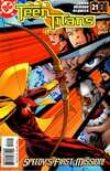 Teen Titans #21 comic books - cover scans photos Teen Titans #21 comic books - covers, picture gallery