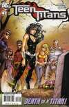Teen Titans #47 comic books - cover scans photos Teen Titans #47 comic books - covers, picture gallery