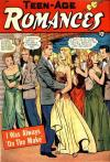 Teen-Age Romances #19 Comic Books - Covers, Scans, Photos  in Teen-Age Romances Comic Books - Covers, Scans, Gallery