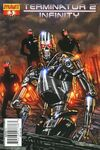 Terminator 2: Infinity #3 comic books - cover scans photos Terminator 2: Infinity #3 comic books - covers, picture gallery