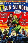 Tex Dawson: Gun-Slinger comic books