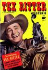 Tex Ritter Western comic books