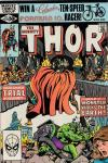 Thor #313 comic books - cover scans photos Thor #313 comic books - covers, picture gallery