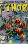Thor #332 comic books - cover scans photos Thor #332 comic books - covers, picture gallery