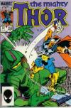 Thor #358 comic books - cover scans photos Thor #358 comic books - covers, picture gallery