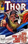 Thor #394 comic books - cover scans photos Thor #394 comic books - covers, picture gallery