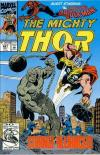 Thor #447 comic books - cover scans photos Thor #447 comic books - covers, picture gallery