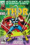 Thor #457 comic books - cover scans photos Thor #457 comic books - covers, picture gallery