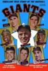 Thrilling True Story of the Baseball Giants #1 comic books for sale