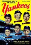 Thrilling True Story of the Baseball Yankees comic books