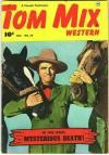 Tom Mix Western #34 comic books - cover scans photos Tom Mix Western #34 comic books - covers, picture gallery