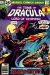 Tomb of Dracula #47 cheap bargain discounted comic books Tomb of Dracula #47 comic books