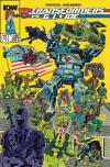 Transformers vs. G.I. Joe Comic Books. Transformers vs. G.I. Joe Comics.