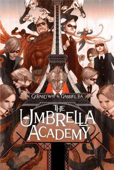 Umbrella Academy comic books