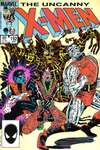 Uncanny X-Men #192 comic books - cover scans photos Uncanny X-Men #192 comic books - covers, picture gallery