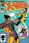 Uncanny X-Men #195 comic books - cover scans photos Uncanny X-Men #195 comic books - covers, picture gallery