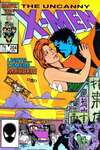 Uncanny X-Men #204 comic books for sale