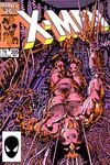Uncanny X-Men #205 comic books - cover scans photos Uncanny X-Men #205 comic books - covers, picture gallery