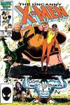Uncanny X-Men #206 comic books - cover scans photos Uncanny X-Men #206 comic books - covers, picture gallery