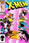 Uncanny X-Men #208 comic books - cover scans photos Uncanny X-Men #208 comic books - covers, picture gallery