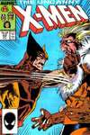Uncanny X-Men #222 comic books - cover scans photos Uncanny X-Men #222 comic books - covers, picture gallery