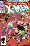Uncanny X-Men #225 comic books - cover scans photos Uncanny X-Men #225 comic books - covers, picture gallery