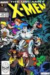 Uncanny X-Men #235 comic books - cover scans photos Uncanny X-Men #235 comic books - covers, picture gallery