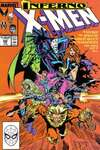 Uncanny X-Men #240 comic books - cover scans photos Uncanny X-Men #240 comic books - covers, picture gallery