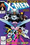 Uncanny X-Men #242 comic books - cover scans photos Uncanny X-Men #242 comic books - covers, picture gallery