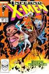 Uncanny X-Men #243 comic books - cover scans photos Uncanny X-Men #243 comic books - covers, picture gallery